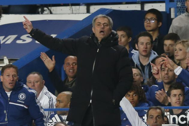 Chelsea vs. Tottenham: Post-Match Reaction from Jose Mourinho and Tim Sherwood