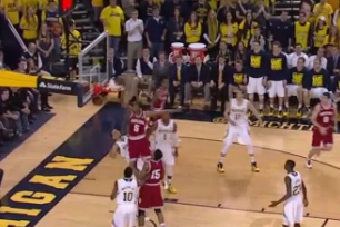 Video: Troy Williams Explodes for And-1 Dunk