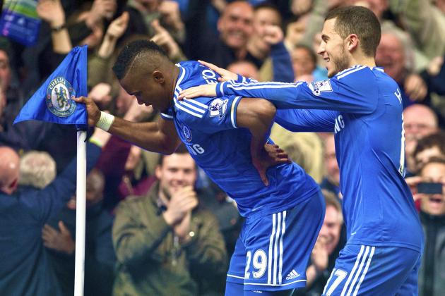 Samuel Eto'o Hits 300 Goals as Chelsea Strengthen Their Title Charge