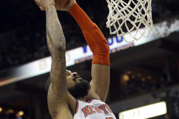 Tyson Chandler Dunks on Spencer Hawes