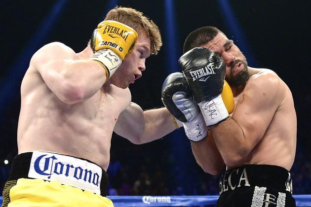 Canelo vs. Angulo: Live Round-by-Round Results and Highlights