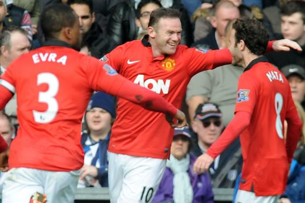 Premier League Week 29 Standout Stats: Wayne Rooney in a Class of His Own