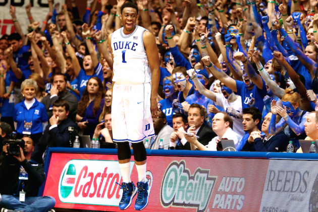 Jabari Parker Takes over Duke-UNC, Keeps Blue Devils Hopes for No. 1 Seed Alive