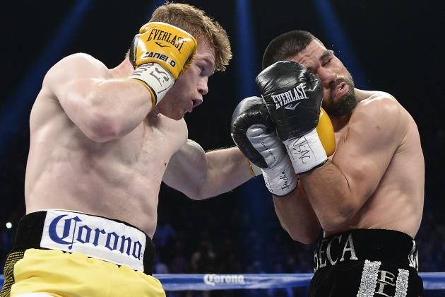 Canelo Alvarez vs. Alfredo Angulo Results: Top Moments from Brutal Bout