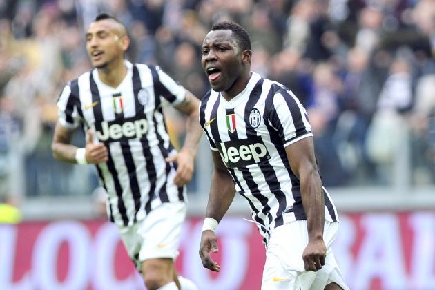 GIF: Kwadwo Asamoah Scores Solo Golazo for Juventus vs. Fiorentina