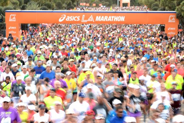 Los Angeles Marathon 2014: Men's and Women's Top Finishers