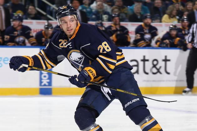 Sabres Lose Three Players for at Least a Week