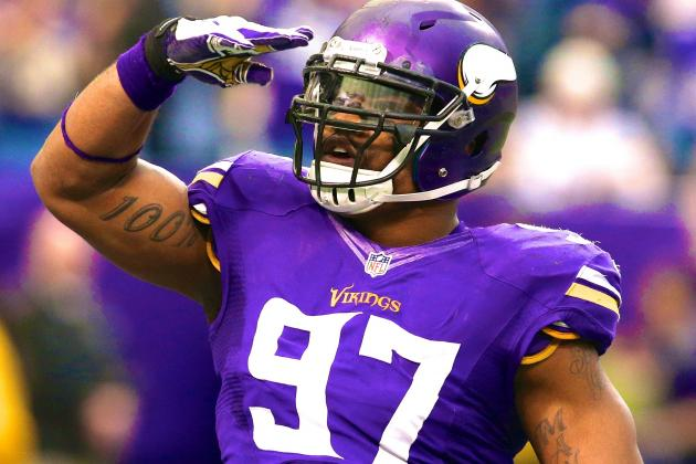 Everson Griffen and Vikings Reportedly Agree on 5-Year Contract