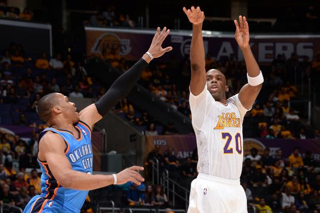 Jodie Meeks Outscores Thunder in 3rd Quarter by Himself