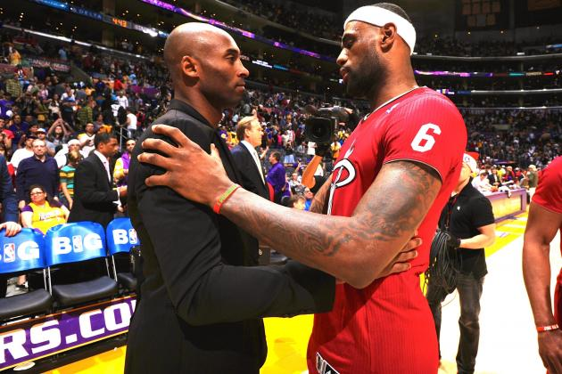 How Will LeBron James' Game Look at Kobe Bryant's Age?