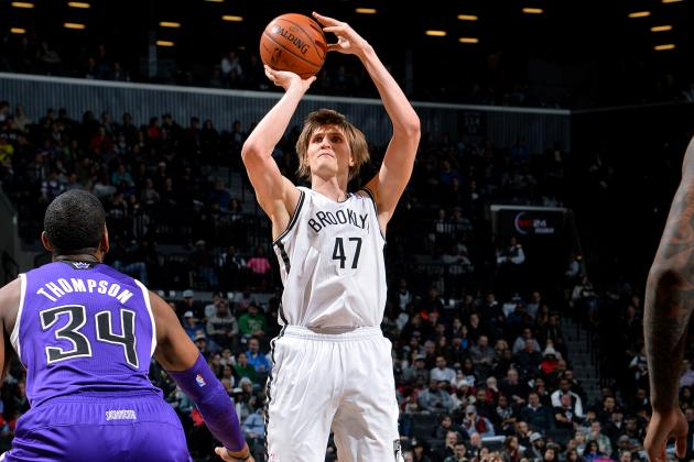 Kirilenko (Ankle) out for Remainder of Game vs. Kings