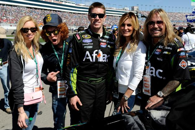 Strategy Pays off for Carl Edwards with Top-5
