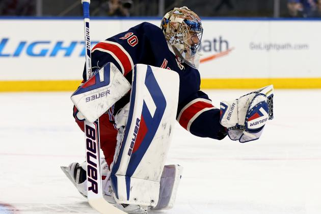 Rangers' Henrik Lundqvist Records 300th Career NHL Win