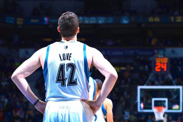 Kevin Love Sets Minnesota Timberwolves Single-Season Record for Made 3-Pointers