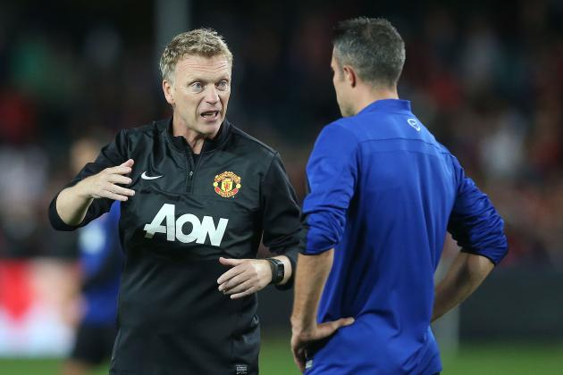 RVP Rumours Leave Moyes in No-Win Situation