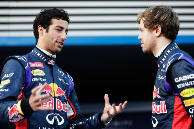 Ricciardo Won't Roll over for Vettel