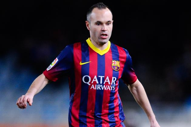 Andres Iniesta Thanks Fans After Loss of Child Causes Barcelona Absence