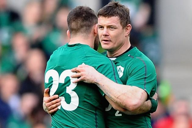 Brian O'Driscoll's Ireland Exit Produced a Great Tweet from Fergus McFadden