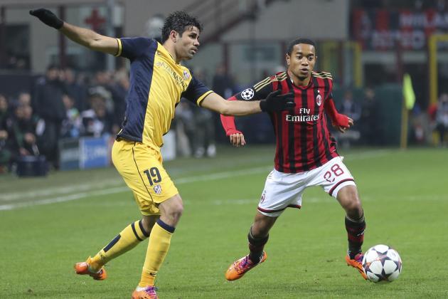 Atletico Madrid vs. Milan Film Focus: Diego Costa Key to Rossoneri Frustration