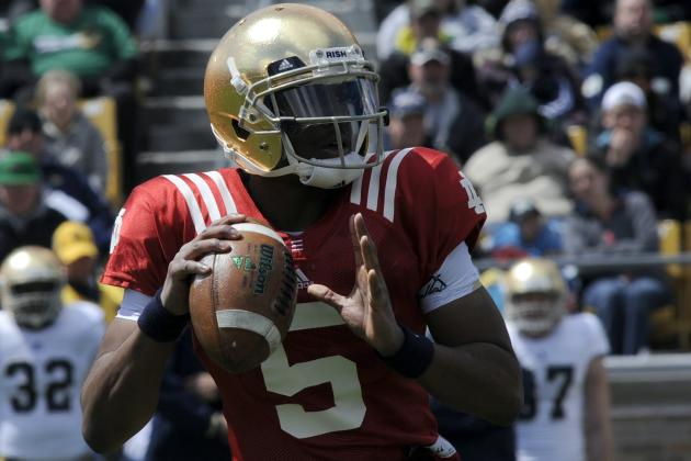 Breaking Down Notre Dame's Spring Offensive Position Battles