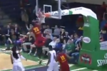 D-Leaguer's Amazing Off-the-Backboard Jam