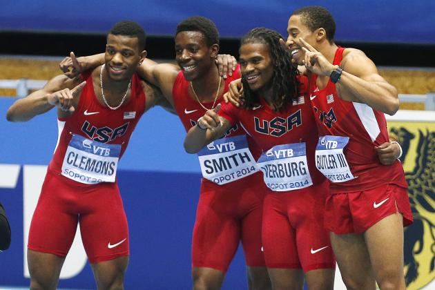 US Track Relay Record Delivers Strong Message Ahead of 2016 Summer Olympics