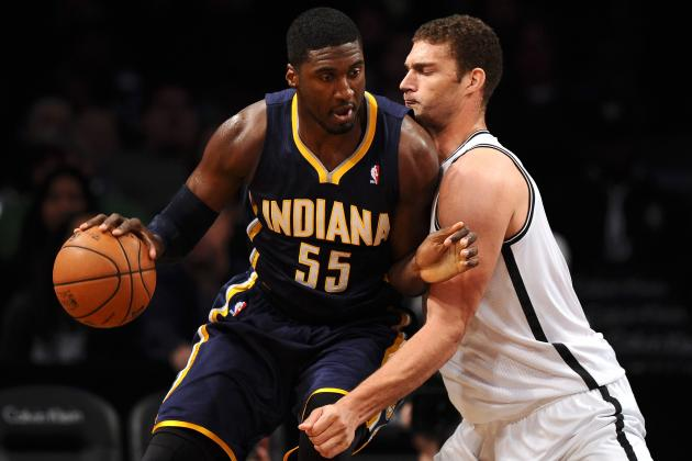 If He Had To, Roy Hibbert Would Pick Brook Lopez as a Mentor