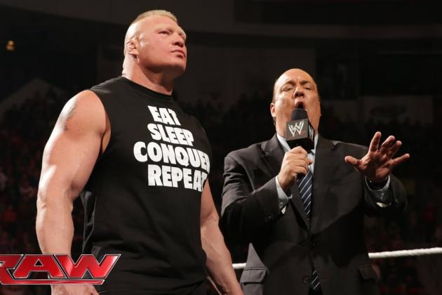 Brock Lesnar Is Most Believable Threat to Defeat Undertaker at WrestleMania