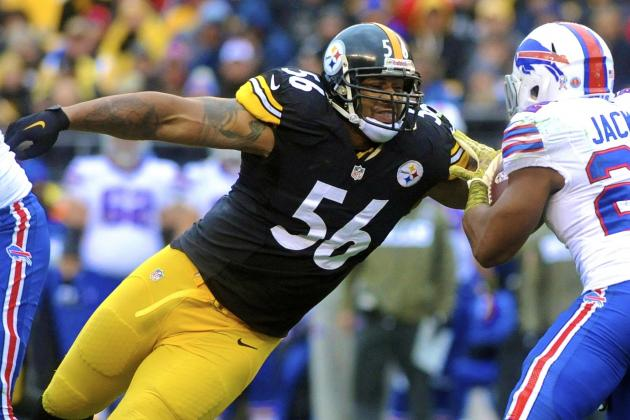 LaMarr Woodley Reportedly Will Be Cut by Steelers: Latest Details and Reaction