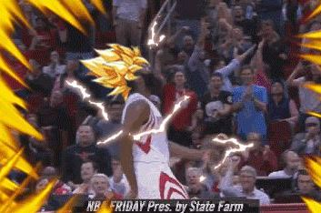 James Harden Gets Fired Up and Turns into Super Saiyan