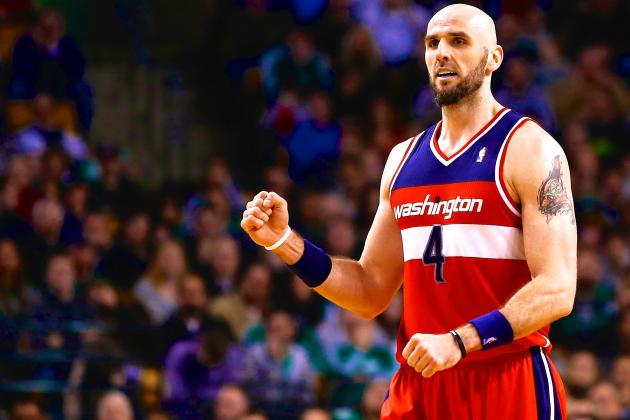 Marcin Gortat Advocates for NBA to Soften Stance on Fighting