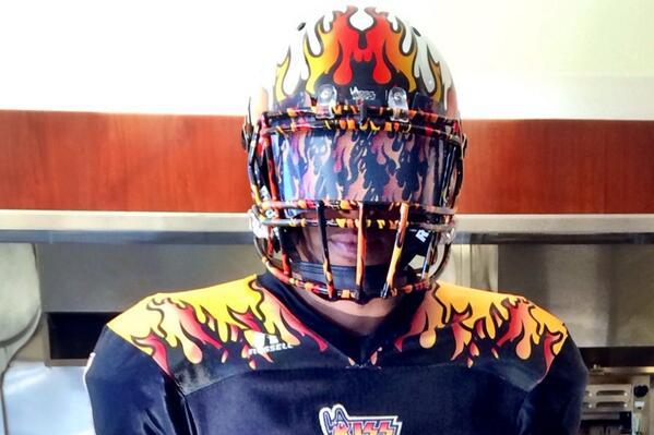 Arena Football League's LA KISS Unveil Wild Uniforms