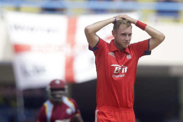 How Would Injury to Stuart Broad Affect England's 2014 World T20 Chances?
