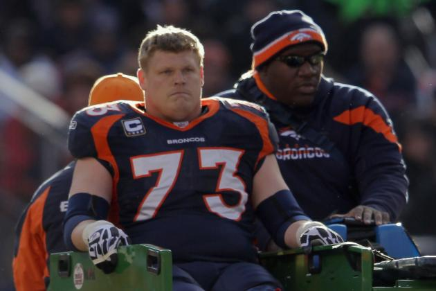 Chris Kuper Retiring After Eight Seasons as Broncos Offensive Lineman