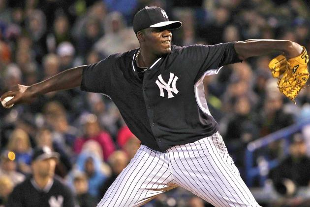 Handicapping Yankees' Hotly Contested Battle for No. 5 Rotation Spot