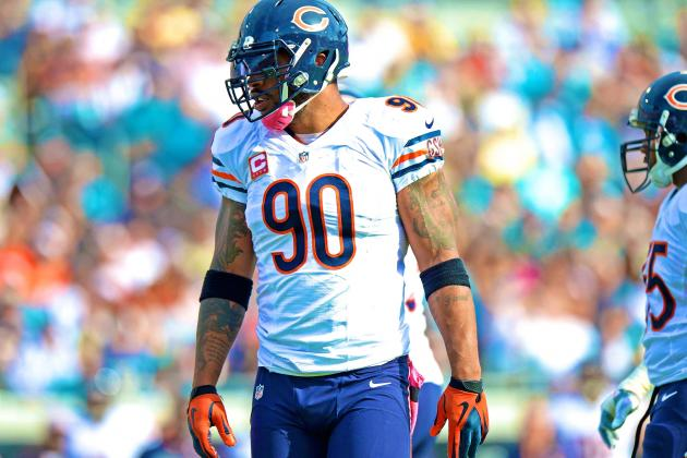 Julius Peppers Trade Rumors: Latest News and Speculation Surrounding Bears DE