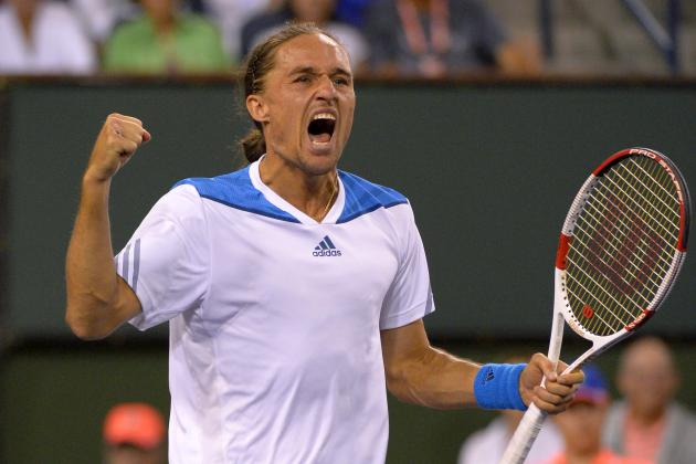 Rafael Nadal vs. Alexandr Dolgopolov: Score and Recap from 2014 Indian Wells
