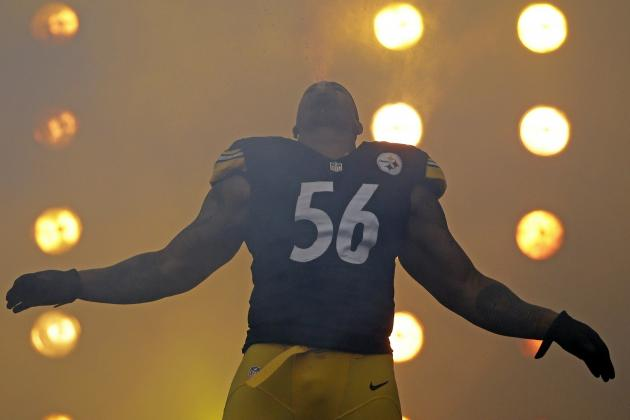 Release of LaMarr Woodley Puts Steelers' Draft Focus on a Pass Rush