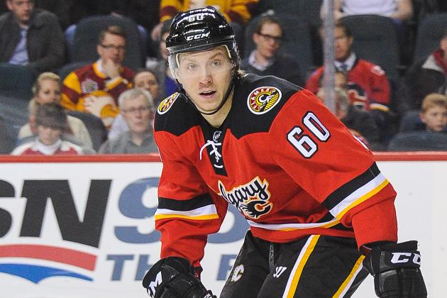 Calgary Flames' Markus Granlund Leaves Game with Injury