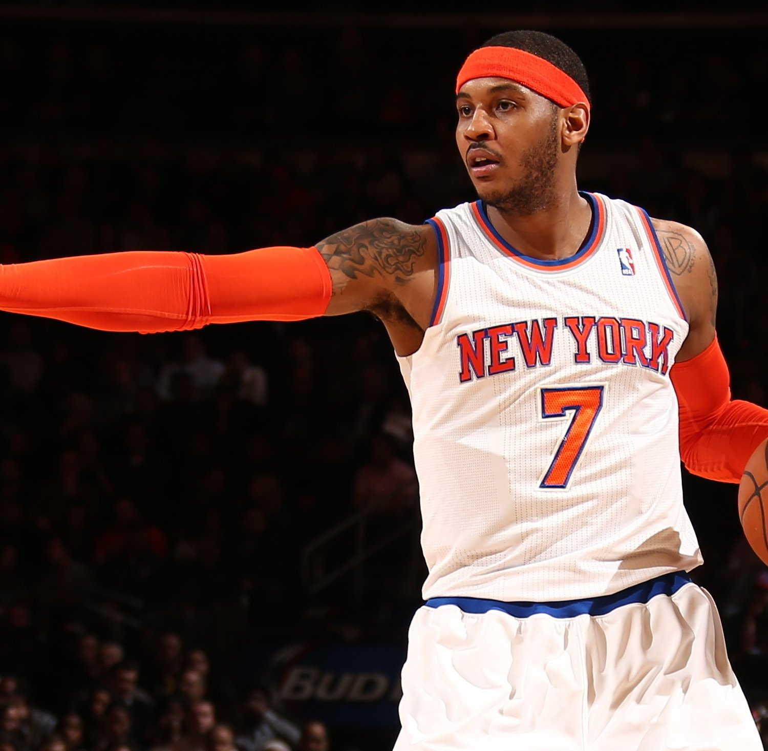 Is Carmelo Anthony Just Putting Up Big Numbers on a Bad NY ...
