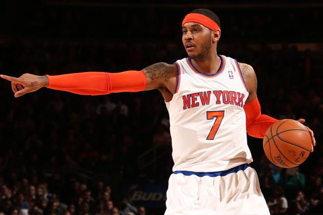 Is Carmelo Anthony Just Putting Up Big Numbers on a Bad NY Knicks Team?