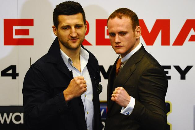 George Groves Threatens to Call off Carl Froch Fight Amid Conspiracy Theory