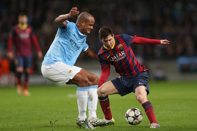 Barcelona vs. Manchester City: Date, Time, Live Stream, TV Info and Preview