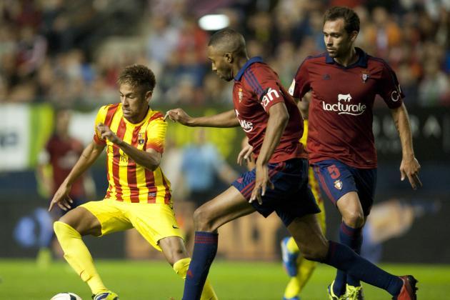How Barcelona Will Line Up Against Osasuna