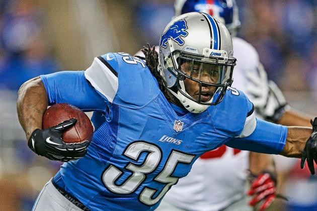 Report: Lions Close to Long-Term Deal with Joique Bell