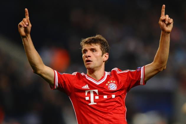 European Team of the Week: Muller Is Star Man as Fellaini Makes Mark for Man Utd