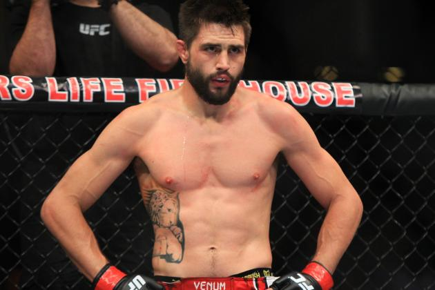 Condit vs. Woodley Results: Winner, Scorecard and Analysis