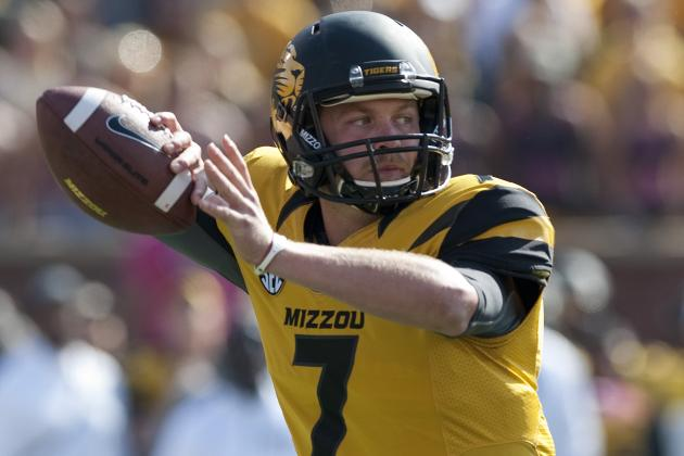 What Missouri QB Maty Mauk Needs to Work on This Spring