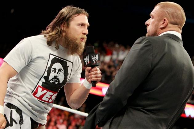 WrestleMania XXX Upgraded with Daniel Bryan's Chances of Winning Title
