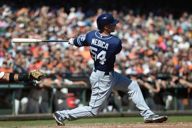 5 Takeaways from Tommy Medica's Performance Thus Far in Spring Training